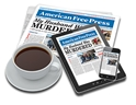 1-YEAR PRINT/DIGITAL SUBSCRIPTION COMBO (U.S.) American Free Press, AFP, subscribe, online, on line,